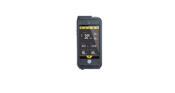 Topeak Weatherproof RideCase+PowerPack iPhone5+Halter black/gray